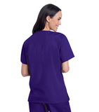 Women's V-Neck Tunic Grape (RPMST) Thumbnail