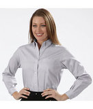 Women's Van Heusen Pinpoint Shirt Grey Thumbnail