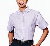 Women's Van Heusen Short Sleeve Oxford Dress Shirt Thumbnail
