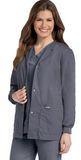 Women's Warm-up Jacket STEEL GREY (STP) Thumbnail