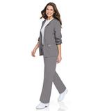Women's Warm-up Jacket Steel Grey Thumbnail