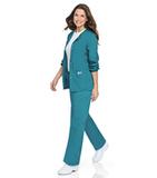 Women's Warm-up Jacket Teal Thumbnail