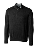 Cutter & Buck Men's Lakemont Half Zip Black Thumbnail