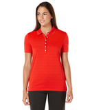 Women's Callaway Opti-vent Knit Polo Shirt Salsa Red Thumbnail