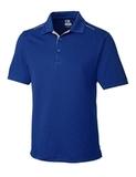 Cutter & Buck Men's DryTec Foss Hybrid Polo Shirt Tour Blue Thumbnail