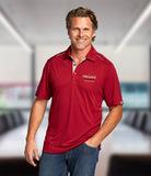 Cutter & Buck Men's DryTec Foss Hybrid Polo Shirt Cardinal Red Thumbnail