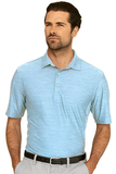 Greg Norman Play Dry Heather Solid Polo Blue Mist Heather Thumbnail