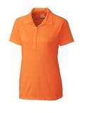 Women's Cutter & Buck DryTec Lacey Polo Shirt Orange Burst Thumbnail