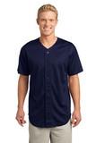 Posicharge Tough Mesh Full-button Jersey True Navy Thumbnail