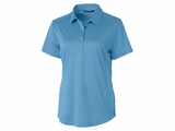 Ladies Prospect Textured Stretch Polo Main Image