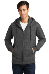 Port & Company Fan Favorite Fleece Full-Zip Hooded Sweatshirt Main Image