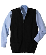 Two Pocket Zipper Vest Main Image