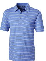 Forge Polo Heather Stripe Main Image
