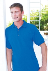 Ultra Blend 5.6-ounce Jersey Knit Sport Shirt Main Image