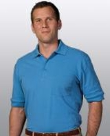 Unisex Short Sleeve All Cotton Pocket Pique Polo Main Image