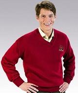 V-neck Pullover Sweater Main Image