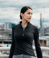 Women's Cutter & Buck Traverse Half-Zip Jersey Knit Main Image