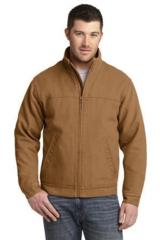 Washed Duck Cloth Flannel-lined Work Jacket Main Image