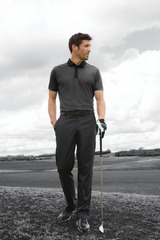 Nike Golf Dri-FIT Heather Pique Modern Fit Polo Main Image