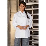 White Economy Chef Coat Main Image