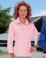 Women's 3/4 Sleeve Stretch Poplin Shirt Main Image