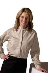 Women's Banded Collar Shirt Main Image
