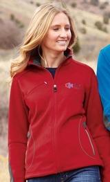 Women's Bonded Fleece Jacket Main Image