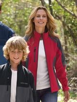 Women's Color-block Soft Shell Jacket Main Image