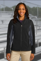 Women's Corevalue Colorblock Soft Shell Jacket Main Image