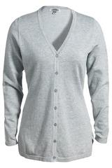 Women's Corporate Performance V-neck Longer Cardigan Main Image