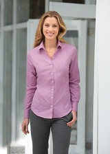 Women's Crosshatch Easy Care Shirt Main Image