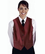 Women's Diamond Brocade Vest Main Image
