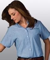 Women's Dress Button Down Oxford SS Main Image