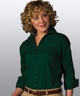 Women's Easy Care Poplin Shirt 3/4 Sleeve Main Image