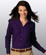 Women's Easy Care Poplin Shirt LS Main Image