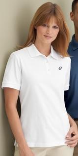 Women's Edry Double Knit Polo Shirt Main Image