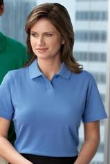 Women's Edry Interlock Polo Shirt Main Image