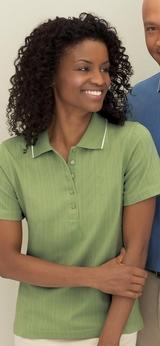 Women's Edry Needle Out Interlock Polo Shirt Main Image