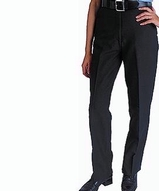 Women's Flat Front 100 Polyester Security Pants Main Image