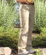 Women's Flat Front Cargo Pant Main Image