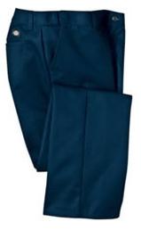 Women's Flat Front Industrial Comfort Waist Pant Main Image