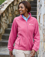 Women's Harriton Full-zip Fleece Main Image