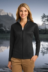 Women's Heavyweight Vertical Texture Full-zip Jacket Main Image
