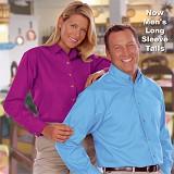 Women's Long Sleeve Easy Care Poplin Main Image