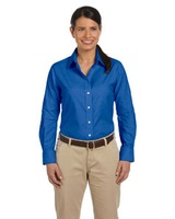 Women's Long-sleeve Oxford With Stain-release Main Image