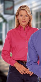 Women's Long Sleeve Twill Shirt Main Image