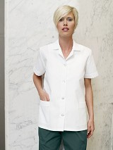 Women's Loose Fit Button Front Smock Main Image
