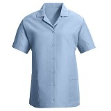 Women's Loose Fit Gripper Front Smock Main Image