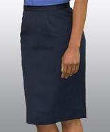 Women's Microfiber Straight Skirt Main Image