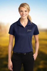 Women's Micropique Moisture Wicking Polo Shirt Main Image